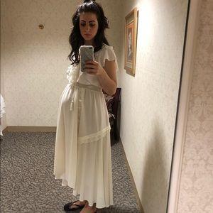 Boho Ivory Dress
